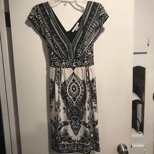 Ice Black & White stylish dress- Sz 10